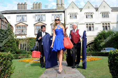 Model Alize Mounter lives the highlife at Coombe Abbey luxury hotel as she promotes the Euro Millions Lottery