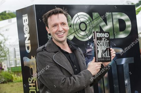 Editorial image of 'Young Bond' franchise authorship handover, Hay Festival, Hay-On-Wye, Powys, Wales, Britain - 28 May 2014