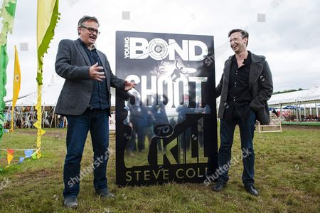 Stock Photo of Charlie Higson and Steve Cole