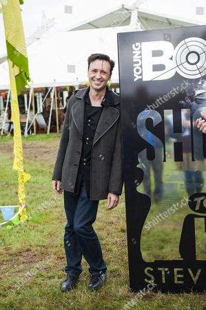 Editorial picture of 'Young Bond' franchise authorship handover, Hay Festival, Hay-On-Wye, Powys, Wales, Britain - 28 May 2014