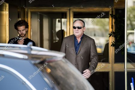 """Editorial picture of Paul Guilfoyle filming tv-drama """"Another time, another life"""" in Stockholm, Sweden - 23 May 2014"""