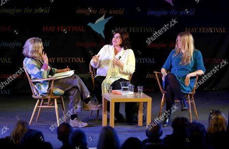 Rosie Boycott, Diana Henry and food stylist Anna Jones
