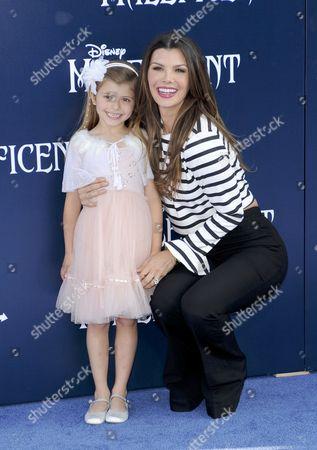 Ali Landry snd daughter Estela Ines Monteverde