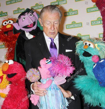 Joel Schumacher with Muppets