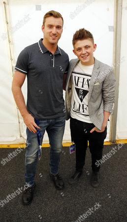 Nicholas McDonald (X-Factor) and Jai McDowall (Britains got Talent)