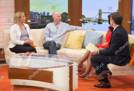 Vicki Butler-Henderson and Noel Gaughan with Susanna Reid and Ben Shephard