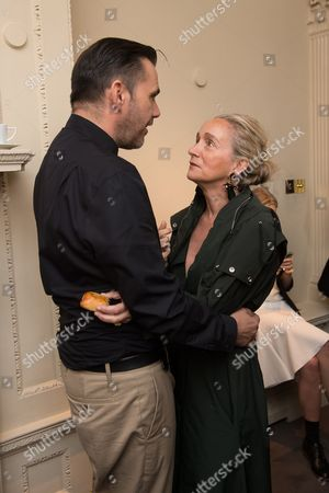 Roland Mouret and Lucinda Chambers