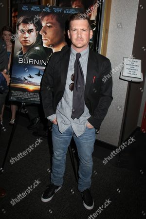 Editorial photo of 'Burning Blue' film premiere, New York, America - 28 May 2014