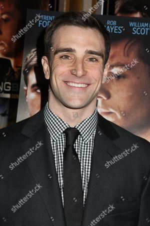 Editorial image of 'Burning Blue' film premiere, New York, America - 28 May 2014