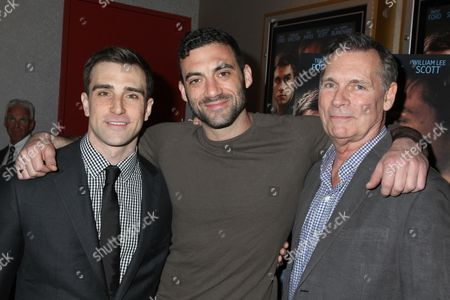Michael Sirow, Morgan Spector and Cotter Smith
