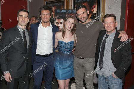 Michael Sirow, Rob Mayes, Gwyneth Bensen, Morgan Spector and William Lee Scott