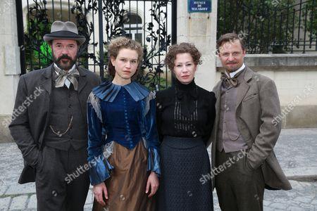 Sebastian Koch as Alfred Nobel, Yohanna Schwertfeger as Sofie, Birgit Minichmayr as Bertha Von Suttner, Philipp Hochmair as Arthur Von Suttner