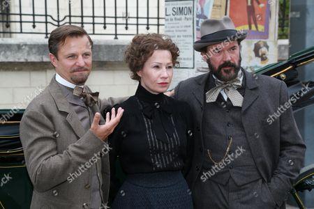 Editorial photo of 'Madame Nobel' on set filming, Vienna, Austria - 26 May 2014