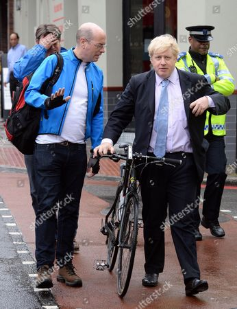 Andrew Gilligan and Boris Johnson