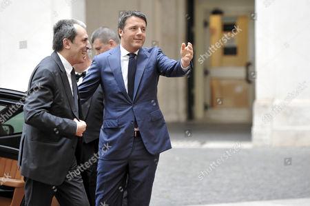 Plamen Oresharski and Matteo Renzi