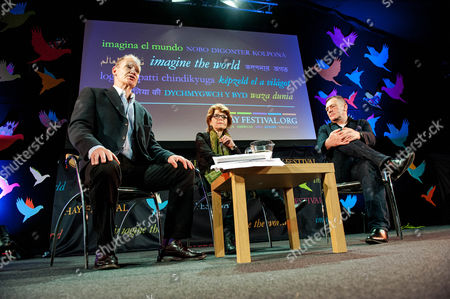 Stock Image of Erwin James, Vicky Pryce and David Wilson
