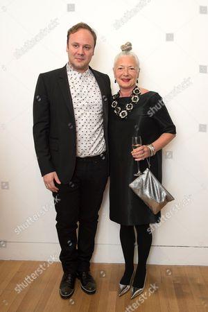 Nicholas Kirkwood and Wendy Dagworthy