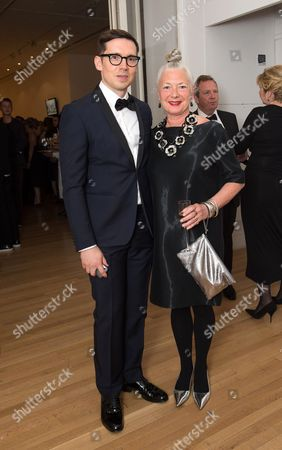 Editorial image of The Royal College of Art Fashion Gala at the Royal College of Art, London, Britain - 29 May 2014