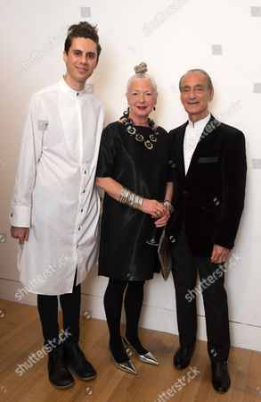 Stock Picture of Nabil Nayal, Wendy Dagworthy and David Sassoon