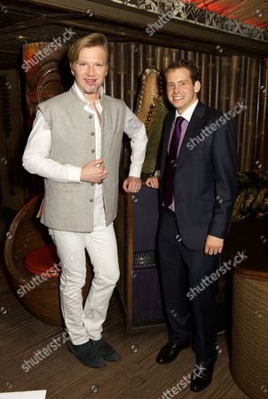 Stock Photo of Henry Conway and Simon Ogilvie-Harris