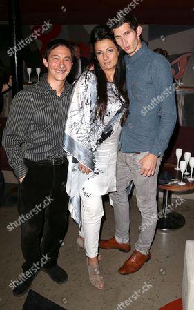 Akie Kotabe, Alice Amter and Alexander Devrient