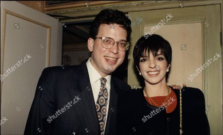 Liza Minnelli Actress With Musician Billy Stritch With Whom She Has Swapped Platinum Friendship Rings.