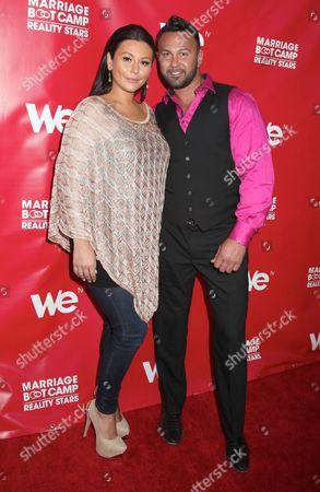 Jenni J-Woww Farley and Roger Mathews