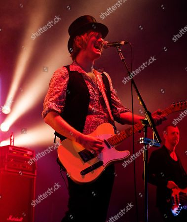 Stock Image of Donington United Kingdom - June 9: Peter Shoulder Of English Rock Band The Union Performing Live Onstage At Download Festival June 9
