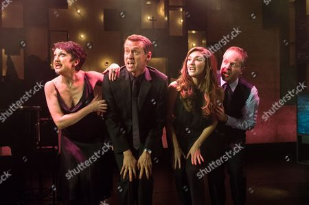 Caroline O'Connor, Andrew Lippa, Summer Strallen and Damian Humbley