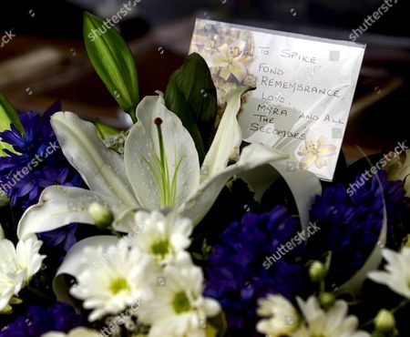 Editorial image of FUNERAL OF SPIKE MILLIGAN, ST ANTHONY OF PADUA CHURCH, RYE, SUSSEX, BRITAIN - 08 MAR 2002