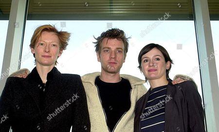 TILDA SWINTON, EWAN MCGREGOR AND EMILY MORTIMER