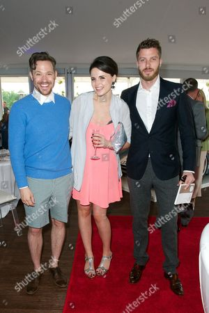 Will Young, Emer Kenny and Rick Edwards