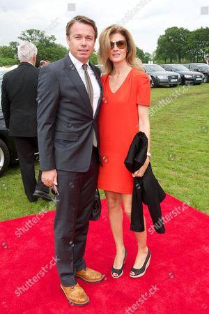 Stock Photo of Graeme Le Saux and Mariana Le Saux