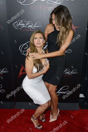 Stock Picture of Nia Peeples, Shay Mitchell