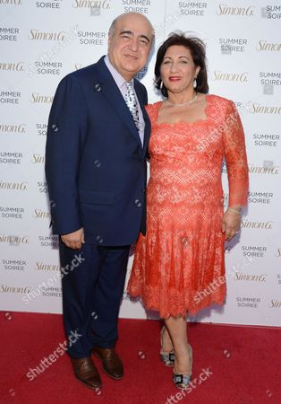 Editorial picture of Simon G. Soiree at The Four Seasons, Las Vegas, America - 31 May 2014