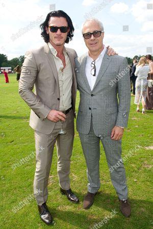 Luke Evans and Jon Zammett