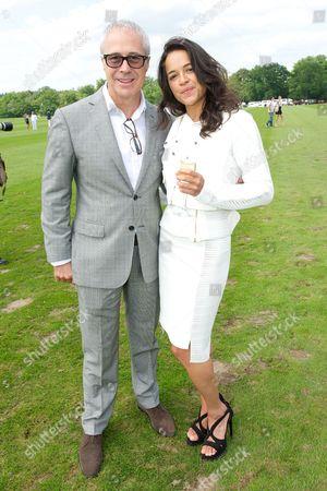 Jon Zammett and Michelle Rodriguez