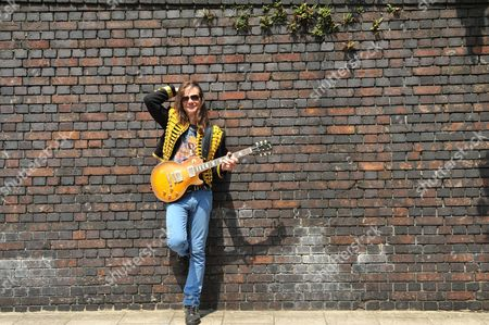 London United Kingdom - July 5: Portrait Of American Rock Musician Larry Miller Photographed Around Marylebone In London On July 5 2013. Miller Is Best Known As A Guitarist And Member Of Proto-punk Group Destroy All Monsters As Well As A Solo Blues Rock Performer