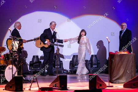 Stock Picture of The Seekers - Keith Potger, Bruce Woodley, Judith Durham and Guy Athol