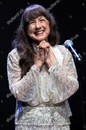 Editorial photo of The Seekers in concert at Bridgewater Hall, Manchester, Britain - 29 May 2014