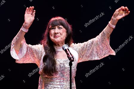 Editorial picture of The Seekers in concert at Bridgewater Hall, Manchester, Britain - 29 May 2014