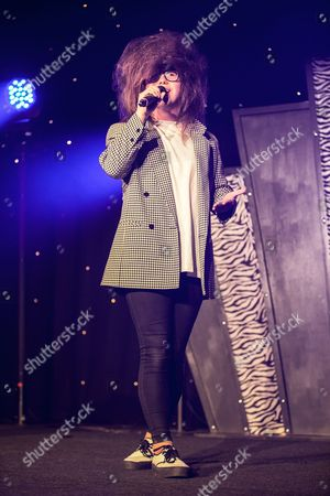 Editorial image of Nick Celino at the Miss Manchester Pageant, Palace Hotel, Manchester, Britain - 24 Apr 2014