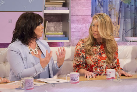 Stock Photo of Coleen Nolan and Olga Levancuka