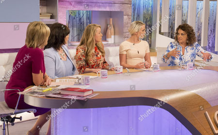 Ruth Langsford, Coleen Nolan, Olga Levancuka, Claire Richards and Nadia Sawalha