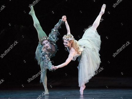 Editorial image of The Dream performed by The Royal Ballet at the Royal Opera House in London, Britain - 30 May 2014