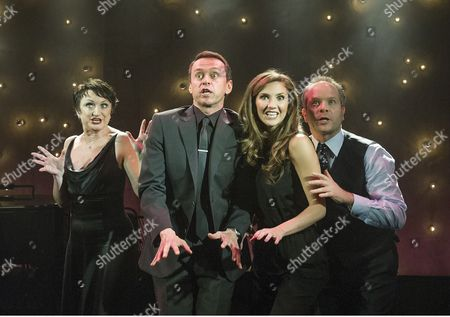 Damian Humbley, Summer Strallen, Andrew Lippa and Caroline O'Conner