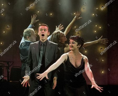 Stock Picture of Damian Humbley, Summer Strallen, Andrew Lippa and Caroline O'Conner