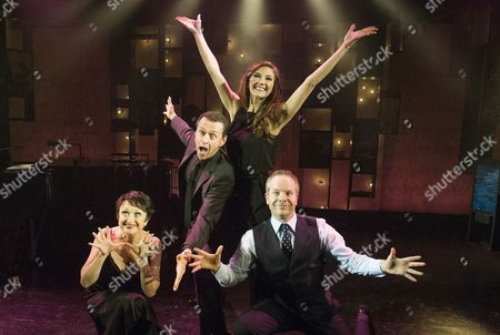 Stock Photo of Damian Humbley, Summer Strallen, Andrew Lippa and Caroline O'Conner