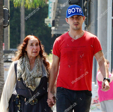 Shia LaBeouf and Shayna Saide