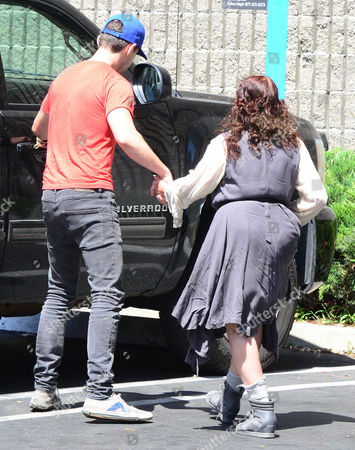 Editorial photo of Shia LaBeouf and mother Shayna Saide out and about, Los Angeles, America - 01 Jun 2014